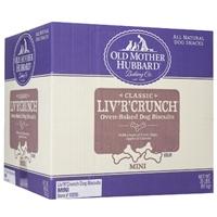 Old Mother Hubbard Extra Tasty Mini Liv'R'Crunch 20 lbs