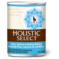 Holistic Select Tuna, Salmon, & Shrimp Can Dog 12/13 oz.
