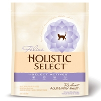 Holistic Select Radiant Adult Cat & Kitten Health Chicken Meal Recipe 12 lb.