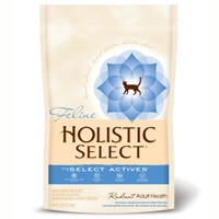 Holistic Select Radiant Adult Health Cat Anchovy, Sardine & Salmon Meal Recipe 12 lb.