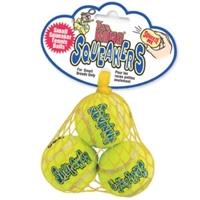 Kong Squeaker Tennis Balls Small