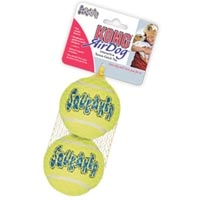 Kong Air Kong Squeaker Large Tennis Balls 2 Pack