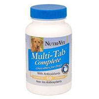 Nutri-Vet Multi-Tab Liver Chewable Tablets 60 Count