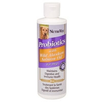 Nutri-Vet Probiotics With Wild Alaskan Salmon Oil 8 oz.