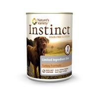 Nature's Variety Instinct Limited Ingredient Diet Turkey Formula canned dog food 12/13.2 Oz