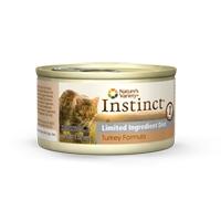 Nature's Variety Instinct Limited Ingredient Diet Turkey Formula canned cat food 24/3 Oz