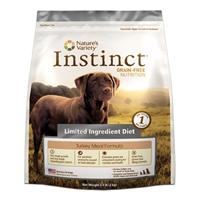 Nature's Variety Canine Instinct Limited Ingredient Diet Turkey Meal Diet, 5/4.4 Lb