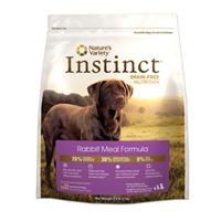 Nature's Variety Instinct Kibble Rabbit Dog 5/4.4 lb.