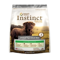 Nature's Variety Canine Instinct Limited Ingredient Diet Lamb Meal Diet, 25.3 Lb