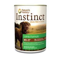 Nature's Variety Instinct Can Dog Lamb 12/13.2 oz