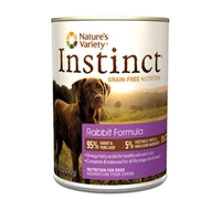 Nature's Variety Instinct Can Dog Rabbit 12/13.2 oz