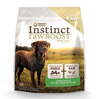 Nature's Variety Instinct Raw Boost Canine Kibble - Lamb Meal Formula 23.5#