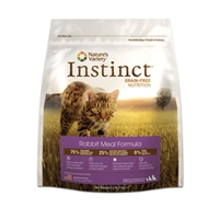 Nature's Variety Instinct Rabbit Meal Formula - 5.5 Lb Cat 4/Case
