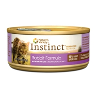 Nature's Variety Instinct Can Cat Rabbit 12/5.5 oz