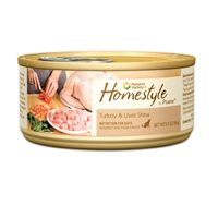 Nature's Variety Homestyle from the Prairie Canned Turkey and Liver Stew Cat 12/5.5 oz.