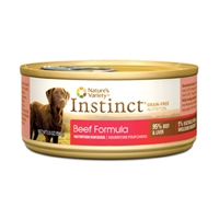 Nature's Variety Instinct Can Dog Beef 12/5.5 oz