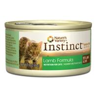 Nature's Variety Instinct Can Cat Lamb Formula 24/3 oz.