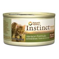 Nature's Variety Instinct Can Cat Venison Formula 24/3 oz.