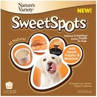 Nature's Variety Instinct Sweet Spots Frozen Dog Treat Sweet Potato & Molasses 4 Pack