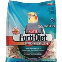 Kaytee  Forti-Diet Pro Health Cockatiel Safflower 6/5 lbs