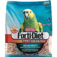 Kaytee Forti-Diet Pro Health Parrot Safflower 6/5 lbs