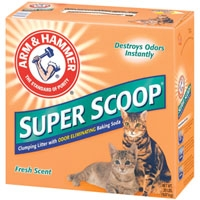 Arm & Hammer Superscoop Clump Scented Litter   2/20 lb.