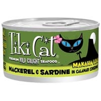 Tiki Cat Makaha Mackerole, 12/2.8 Oz