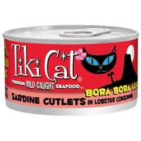 Tiki Cat Bora Bora Sardine, 2.8 Oz