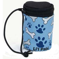 Coastal Lil Pals Waste Bag Dispenser Blue / Bones