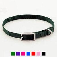 "Coastal Style 301 3/8"" x 12"" Nylon Web Collar Black"
