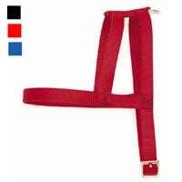 "Coastal Style 444 5/8"" x 14"" Nylon Web Standard Harness Blue"