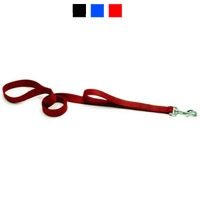 "Coastal Style 906H 1"" x 6' Heavy Weight Nylon Training Lead with Handle Black"