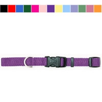 "Coastal Style 6401 5/8"" x 10-14"" Nylon Adjustable Collar Blue"