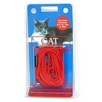 Coastal Style 130 Cat Lead & Harness Red