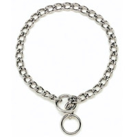 "Coastal Style 5515 Titan 12"" x 1.5 mm Extra Fine Chain Choke Chrome"