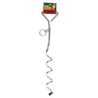 """Coastal 8 mm 17"""" Spiral Tie Out Stake"""