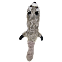Ethical Skinneeez Plus Raccoon Dog Toy 24""