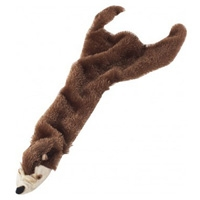 Ethical Skinneeez Plush Beaver Dog Toy 23""