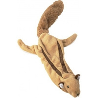 Ethical Skinneeez Plus Dog Toy Flying Squirrel 23""