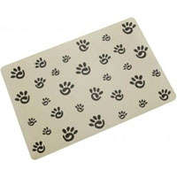 Ethical Designer Paw Print Placemat
