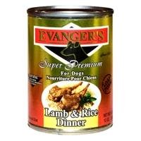 Evanger's Lamb/Rice Gold Dog, 12/13.2 Oz