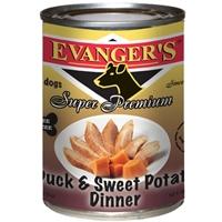 Evanger's Duck/Sweet Potato Gold Dog, 12/13.2 Oz