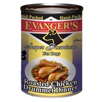 Evanger's Roasted Chicken Drummett Dog, 12/13.2 Oz