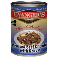 Evanger's HAnd Packed Grian Free Braised Beef with Chunks Dinner - 12/13oz.