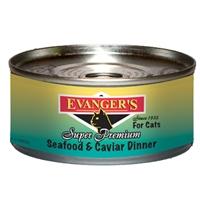 Evanger's Seafood/Caviar Gold Cat, 24/5.5 Oz