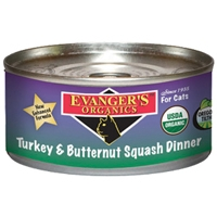 Evanger's Original Turkey/Butternut Squash Cat, 5.5 Oz