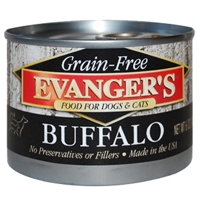 Evanger's Grain Free Buffalo Food For Dogs & Cats