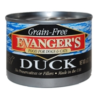 Evanger's Grain Free Duck Food For Dogs & Cats
