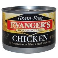 Evanger's 100% Chicken Dog, 24/6 Oz