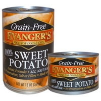 Evanger's Grain Free Sweet Potato for Dogs & Cats 6oz.